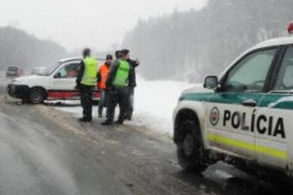 Výkyvy počasia majú na nehodovosť veľký vplyv.