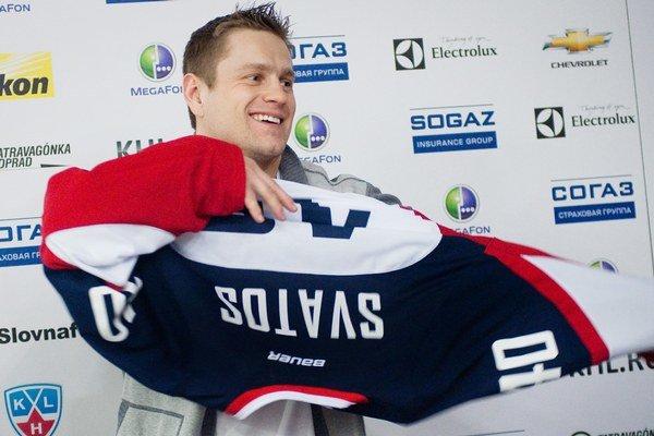Staré číslo 40 si vo svojom novom klube obliekol útočník Marek Svatoš.⋌
