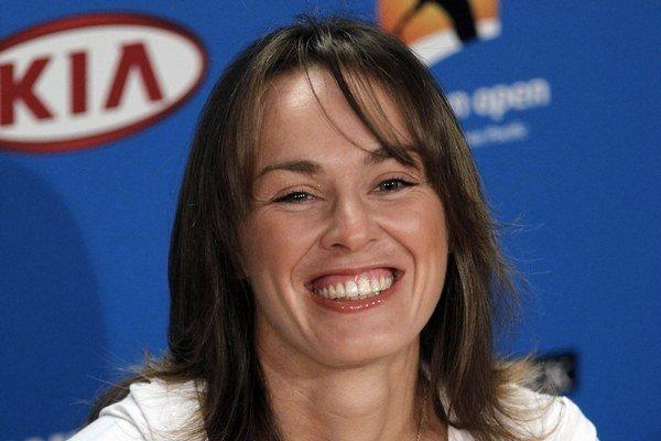 Martina Hingisová už je v Melbourne aj ako trénerka.