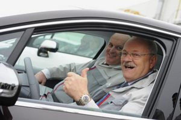 Prezident v milióntom aute.