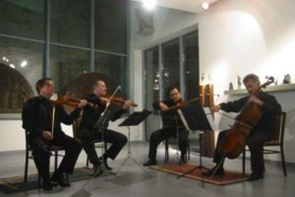 Moyzesovo kvarteto funguje už od roku 1975.