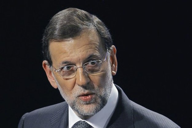 Premiér Rajoy.