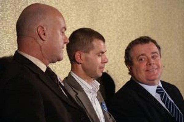 Jedným zo zástupcov primátora Vladimíra Butka (vpravo) bude pravdepodobne Bystrík Stanko (vľavo).