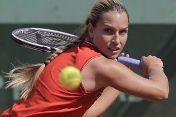 Dominika Cibulková si v 2. kole Roland Garros ľahko poradila s Američankou Kingovou 6:0, 6:2.