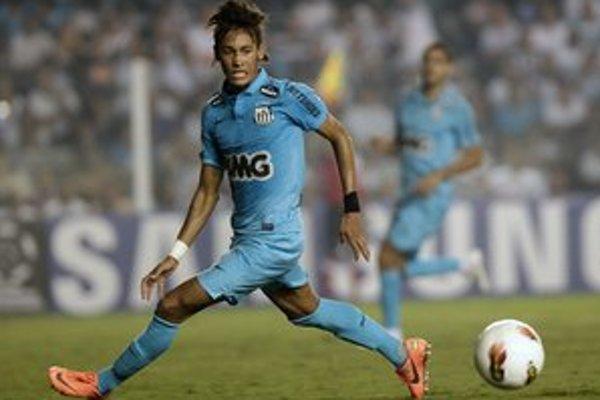 Neymar zo Santosu je hlavnou hviezdou klubu aj súťaže.