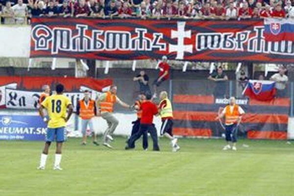 Fanúšika Spartaku obvinili.
