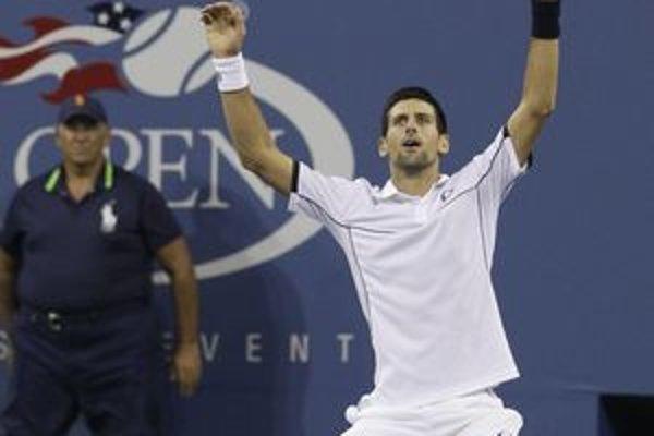 Novak Djokovič naposledy vyhral US Open. Teraz pomôže Srbsku v semifinále Davis Cupu.