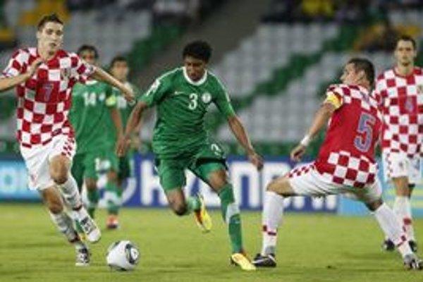 Futbalisti Saudskej Arábia na úvod turnaja dvadsaťročných prekvapili Chorvátsko.