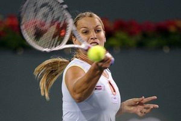 Dominika Cibulková nezopakovala v Indian Wells proti Yanine Wickamyerovej výkon zo zápasu s Verou Zvonariovovou.