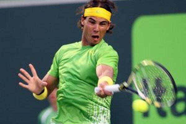 Rafael Nadal sa vo štvrťfinále v Miami potrápil s Tomášom Berdychom.