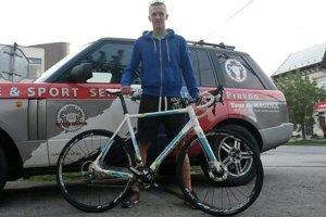 David Zverko - talentovaný slovenský cyklista.