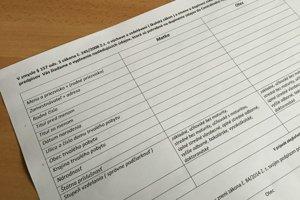 V dotazníku pre školy a škôlky majú rodičia vypĺňať rodné číslo aj zamestnanie.