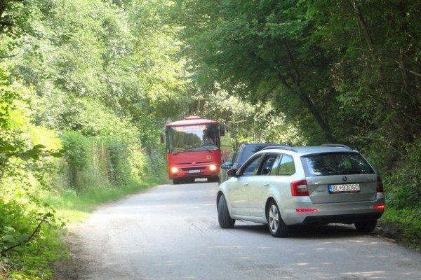 Cesta na Opatovskú chatu je nebezpečným úsekom.