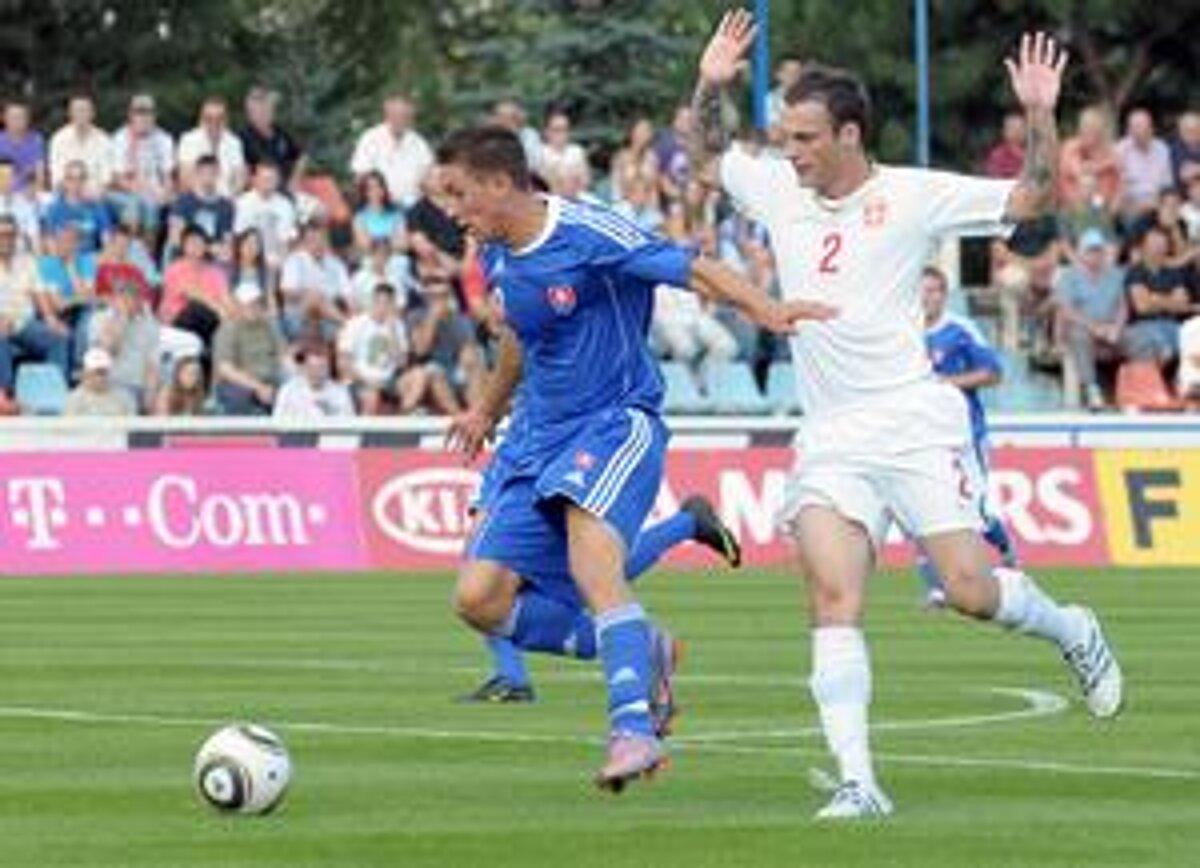a1bcc5017a Jakub Sylvestr je najlepším strelcom mladých Slovákov.