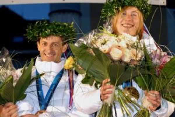 Anastasia Kuzminová a Pavol Hurajt