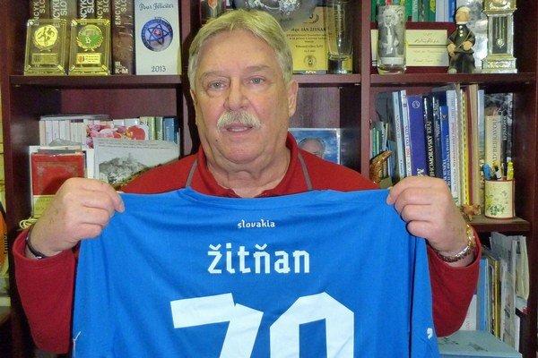 Sedemdesiatnik Ján Žitňan.