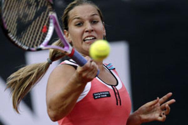 Slovenská tenistka Dominika Cibulková