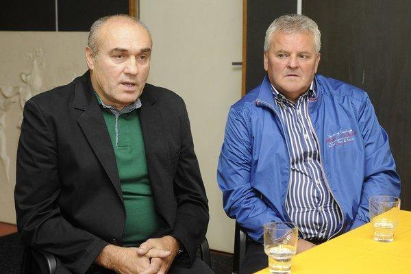Novým akcionárom sa stal Marián Troliga (vľavo).