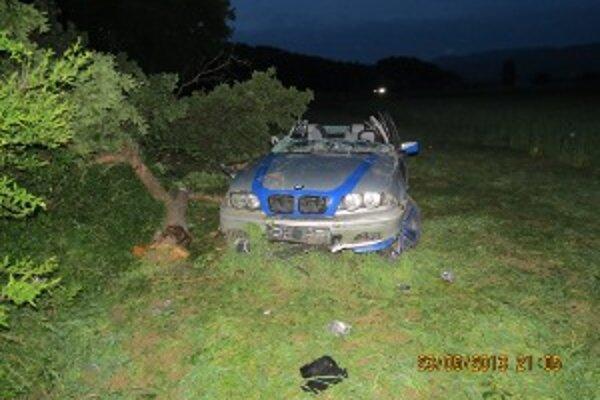 Nehoda v Bánovciach nad Bebravou skončila tragicky.