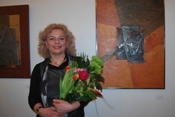 Eva Harmadyová vystavuje v Novom Meste nad Váhom po jedenástich rokoch