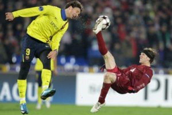 Futbalistom Kazane sa darí aj v Lige majstrov, kde dokázali vyhrať na trávniku slávnej Barcelony.