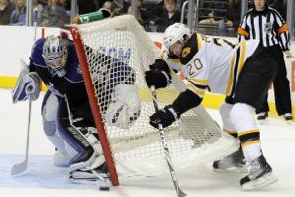 Kings porazili na domácom ľade Bruins.
