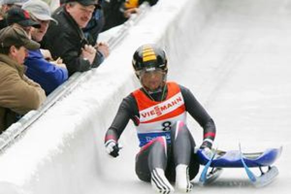 Najskúsenejšou zo slovenskej sánkarskej výpravy je Veronika Sabolová.