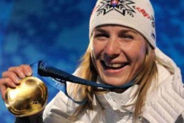 Anastasia Kuzminová získala pre Slovensko historicky prvú zlatú medailu na zimnej olympiáde.