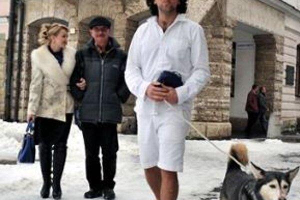 Gianluca Ratta so svojou vernou spoločníčkou Shirou