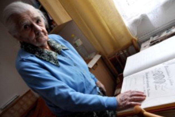 Pavlína Hendrichová z Novej Bošáce oslávila sto rokov