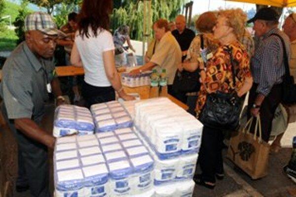 Na východe Slovenska už distribúcia potravín funguje, v našom kraji sú sklady zatiaľ prázdne