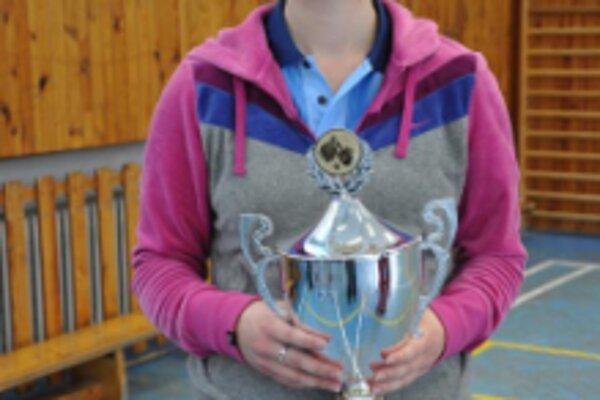 Víťazkou stolnotenisového turnaja sa stala Soňa Hudecová z Trenčianskej Teplej.