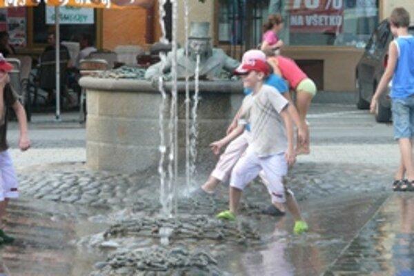 Mesto šetrí, fontánky toto leto nebudú v prevádzke.