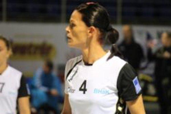 Alžbeta Tóthová bola najvýraznejšou osobnosťou bánovských hádzanárok na ceste za bronzovou medailou.