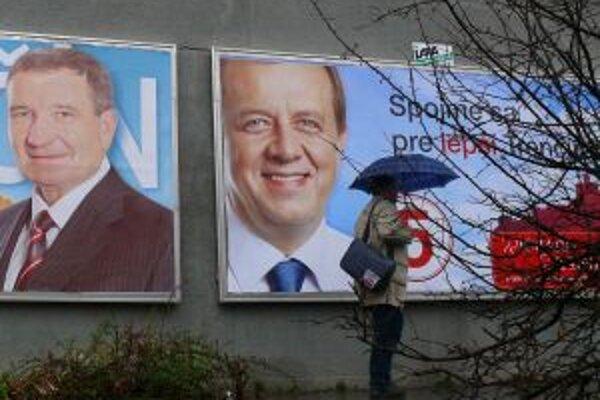 Volebná kampaň vyšla kandidátov na desiatky tisíc eur
