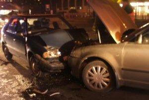 Nehoda sa stala v podvečerných hodinách.