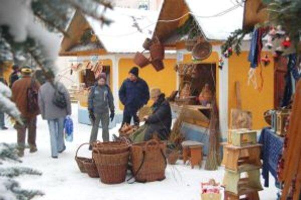Vianočný jarmek v Myjave ponúkne v sobotu kopaničiarsku zabíjačku.