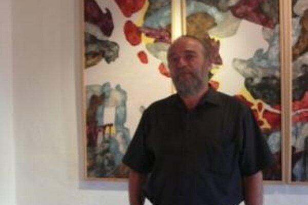 Marián Prešnajder vystavuje v Trenčíne do konca augusta.