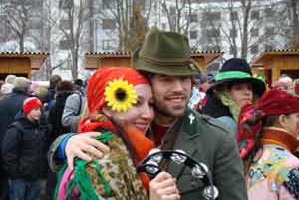 Vo fašiangovom sprievode boli masky od výmyslu sveta