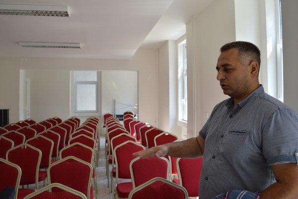Ivan Mako plánuje využívať konferenčnú miestnosť nielen pre vlastné akreditované vzdelávanie, ale aj ako priestor na prenájom pre firmy a inštitúcie.