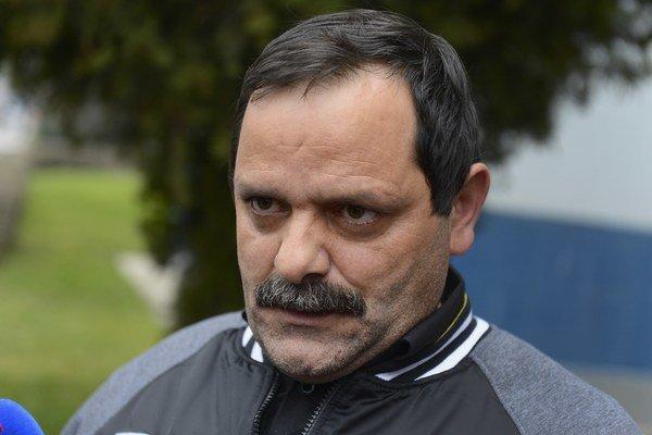 Predseda Strany rómskej únie František Tanko.