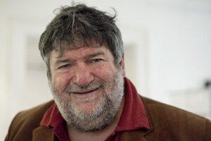 Fotograf Tibor Huszár v marci 2011.