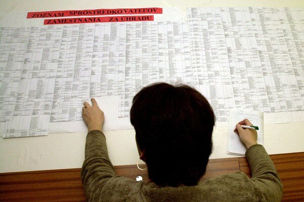 Úrad práce. Niektorí nezamestnaní sú v evidencii od zmeny režimu.