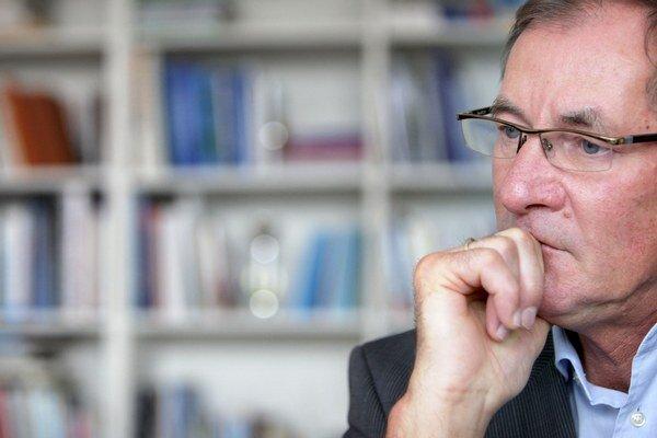 Prezidentský kandidát SR Pavol Hrušovský.
