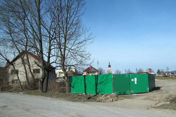 Zberný dvor vo Vavrečke.