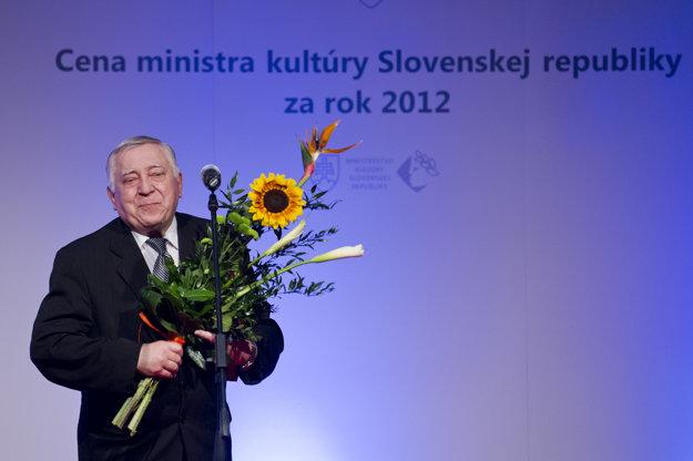 Štefan Vraštiak bol ocenený za celoživotný prínos v oblasti slovenskej kinematografie.