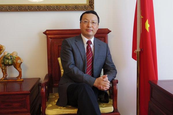 Čínsky veľvyslanec na Slovensku Lin Lin