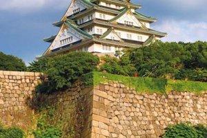 Zámok v japonskej Osake, postavený firmou Kongo Gumi