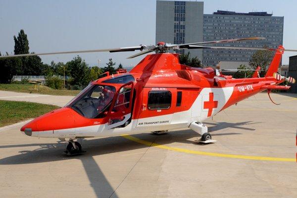 Na Remate zasahoval záchranársky vrtuľník.