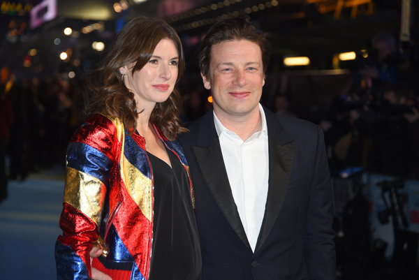 Jamie s tehotnou manželkou